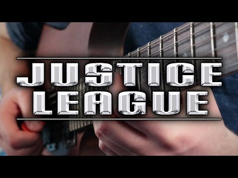 Justice League The Animated Series Theme on Guitar