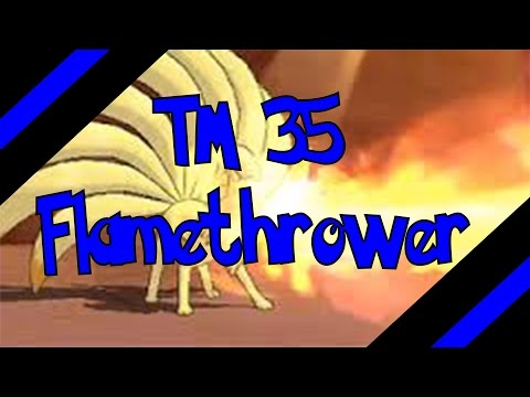 How To Get TM 35 - Flamethrower In Omega Ruby and Alpha Sapphire (Oras)
