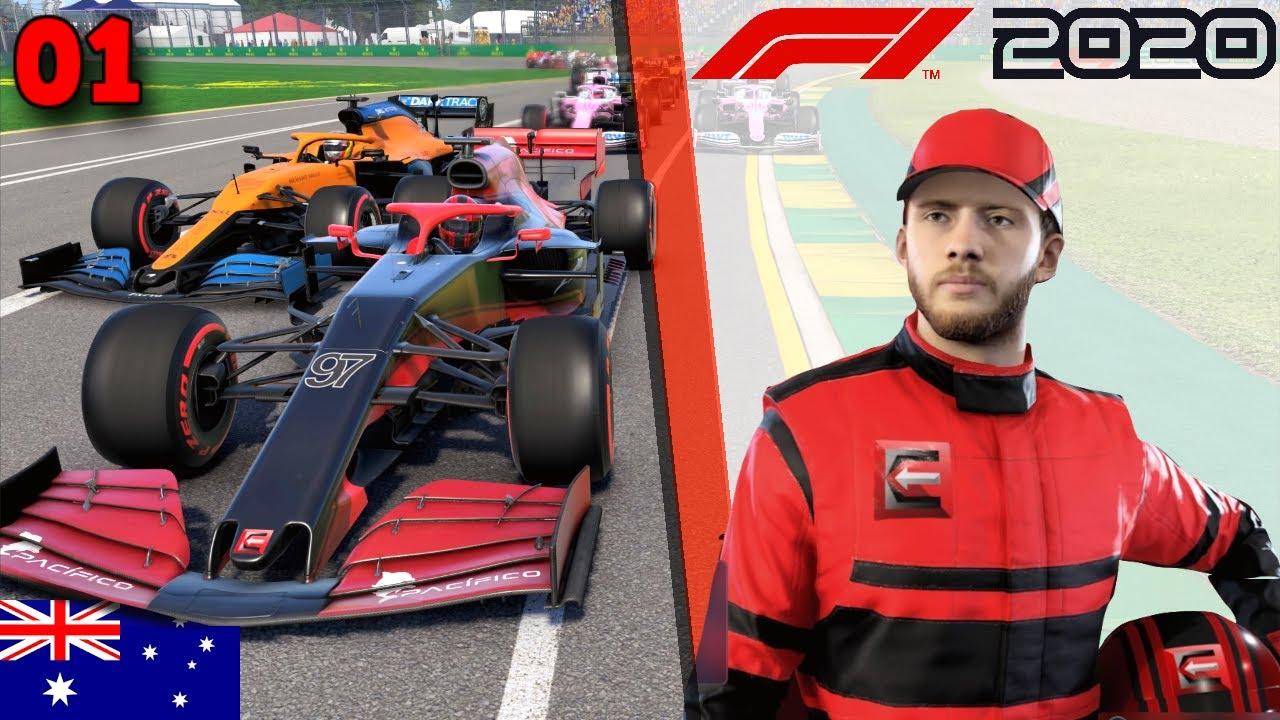 F1 2020 Carrière #1 - UN TRÈS BON DÉBUT !!! - Melbourne PS4