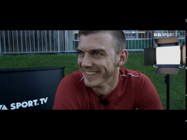Portrait mit Kapitän Florian Widl vom SK Adnet
