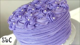 HOW TO DECORATE CAKES WITH BUTTERCREAM ICING