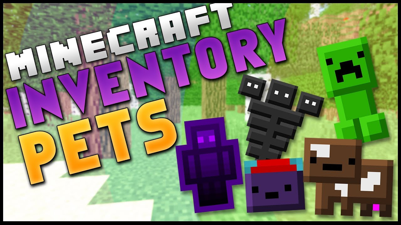 Mod Spotlight / inventory pets - YouTube