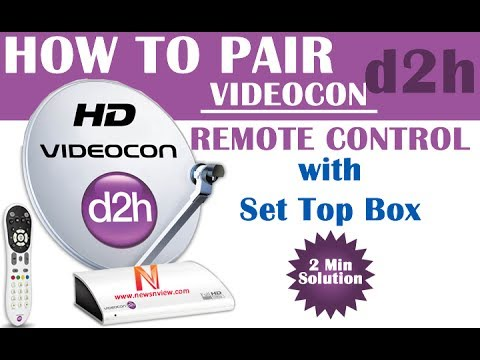 How to Pair Videocon D2H Remote in 2 Minutes | Simple Solution for D2H Remote Pairing | DTH Pairing