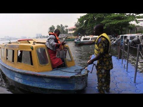 A Lagos, le taxi-bateau pour lutter contre l'enfer des bouchons