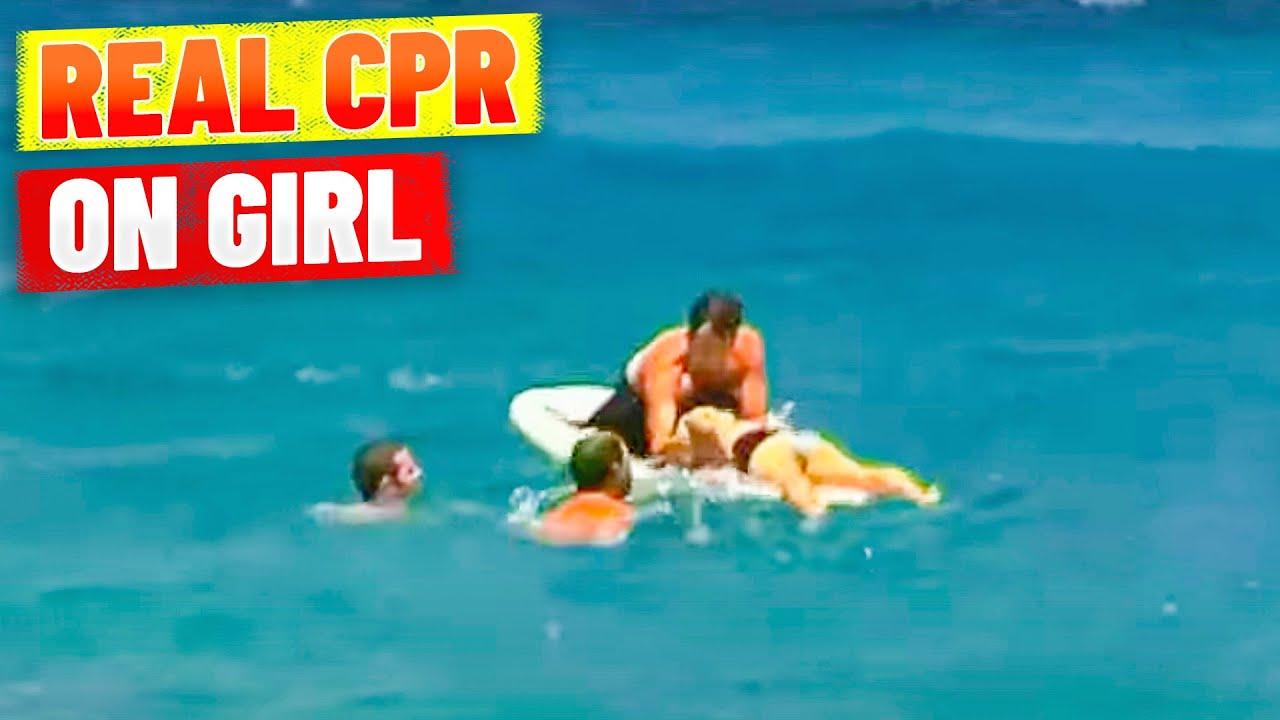 Girl Almost Drowns At Bondi Beach Real Life Resuscitation Youtube