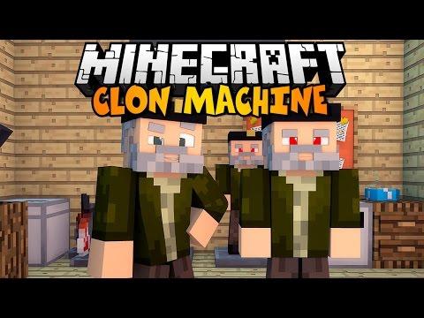 Minecraft: CLON MACHINE! | Clon Craft Mod Review