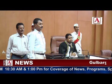 Mayor Sharan Modi Ki Sadrat Me Gulbarga City Corporation Ki Budget Meeting A.Tv News 25-5-2017