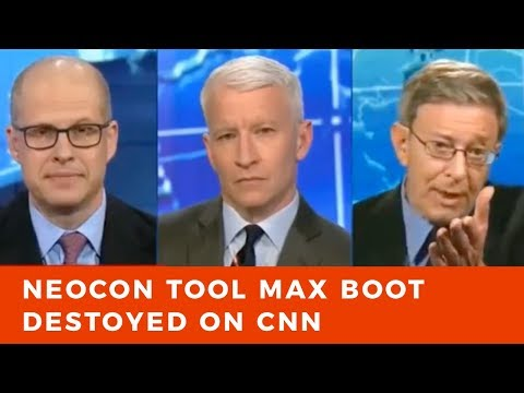 Stephen Cohen DEMOLISHES neocon tool Max Boot on CNN
