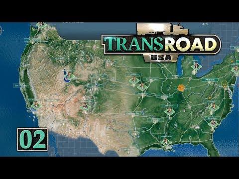TRANSROAD USA 🚚 Kniffelige Entscheidungen ► #2 LKW Logistik Wirtschaft Simulation deutsch german