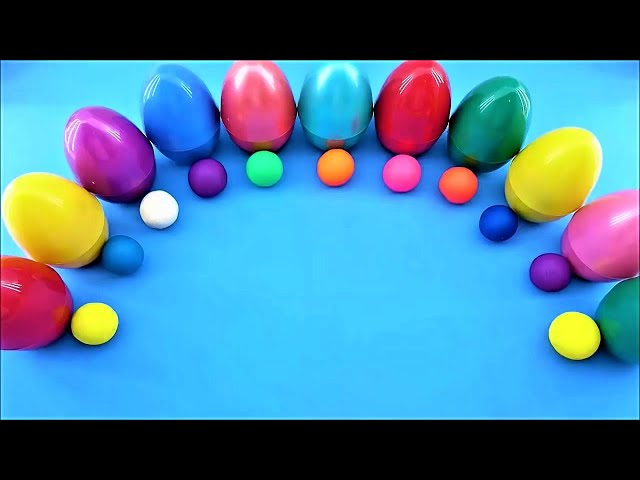 Learn To Count 0 to 10 with Surprise Egg Numbers - Surprise Toys