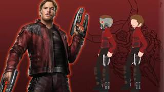Star Lord [ Speed Making ] Avengers Infinity war - Gog vol 2 | Pivot |