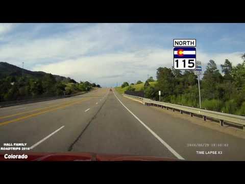 Colorado 2016 CO 115 Penrose to I 25 in Colorado Springs