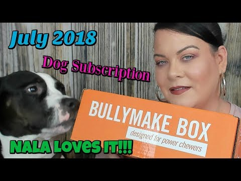 watch-nala-do-her-tricks-//-bullymake-unboxing-july-2018