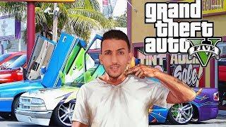 بث مباشر ترتيب السيارات الخاصة بي في لعبة حرامى السيارات 5  | Grand Theft Auto V PC