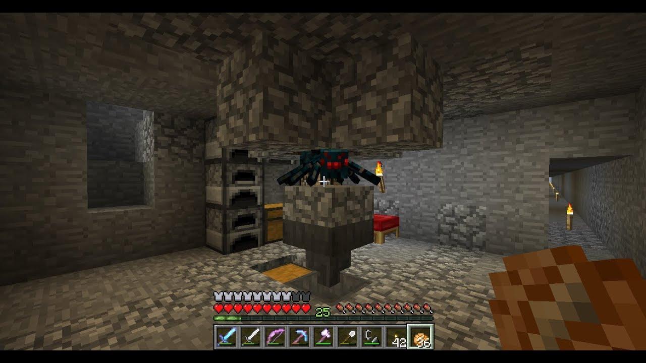 Minecraft Vanilla ITA EP6 Parte 1 Farm Di Ragni YouTube