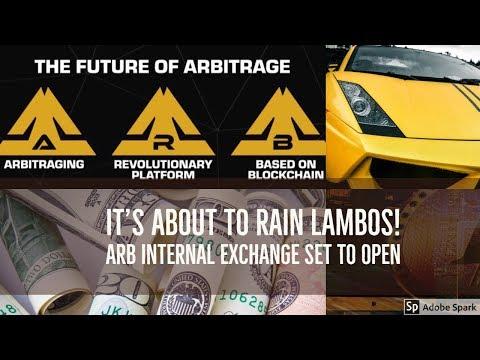 Bitcoin  Lambo coming soon!  - Arbitraging ICO  Internal exchange opening today