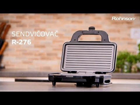 8cea8dd87 Rohnson R 276, sendvičovač XL - YouTube