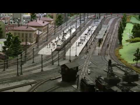 Model Railway Exhibition in H0 Gauge from Germany