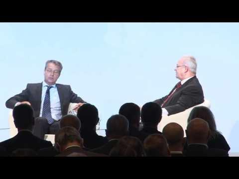 Diskussionsrunde Dieter Zetsche und Martin Winterkorn - Auto-Gipfel 2014