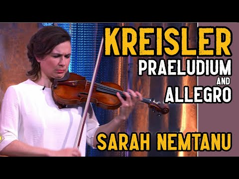 Pugnani Kreisler ★ Praeludium and Allegro ★ Sarah Nemtanu, Live 2016