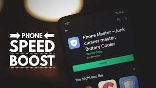 Phone Master Junk Cleaner Master Battery Cooler - Boost Mobile Speed - For EDUCATIONAL PURPOSE Only screenshot 1