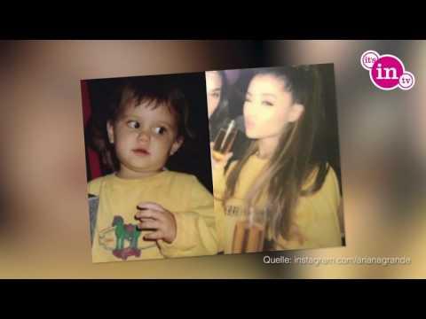 Ariana Grande I SO süß bedankt sie sich!