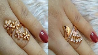 Light Weight Gold Ring Designs | Daily Wear Gold Rings Collection