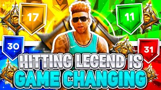 HITTING LEGEND TURNED ALL MY BUILDS TO DEMIGODS ON NBA2K20