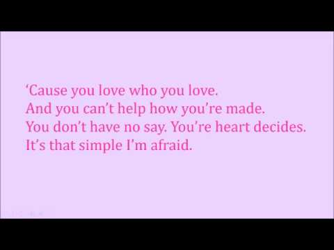You love who you love | Lyrics | Bonnie&Clyde