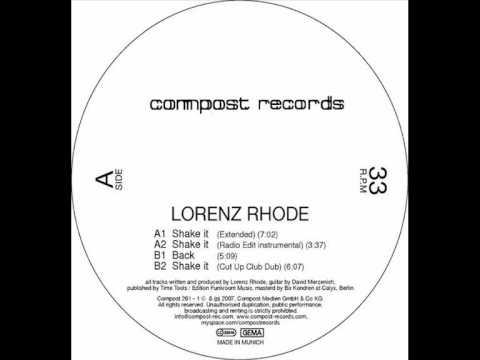 Lorenz Rhode - Back