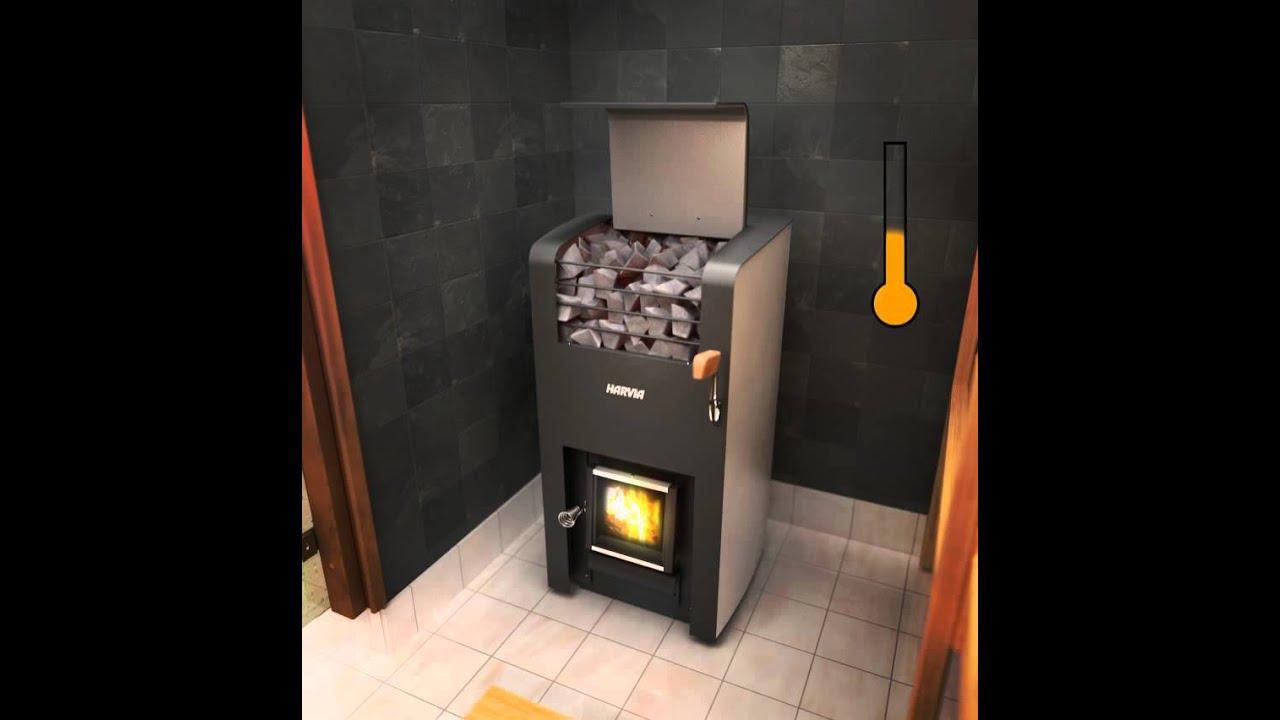 Harvia Sauna Stove Youtube