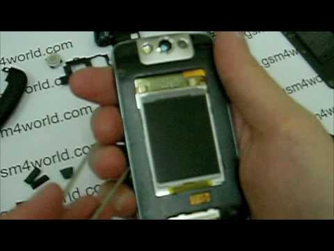 BlackBerry Pearl 8220 8230 flip instructions Guide disassembly tutorial installation Part 2