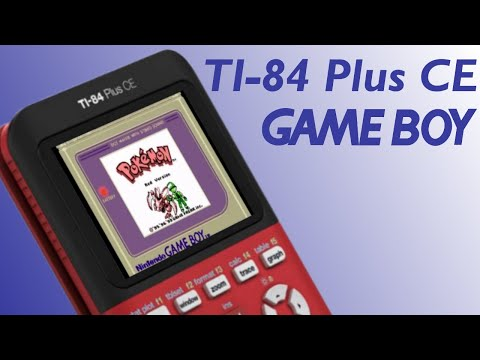 How to put Gameboy games on your TI-84 Plus CE!