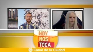Entrevista a Luis Padrón, el joven que se trasformó en Elfo en Hoy nos toca