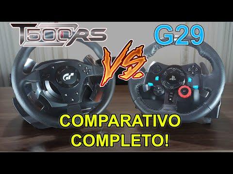 Review | Logitech G29 .V.S. Thrustmaster T500RS | Thrustmaster é 2X melhor que o logitech?