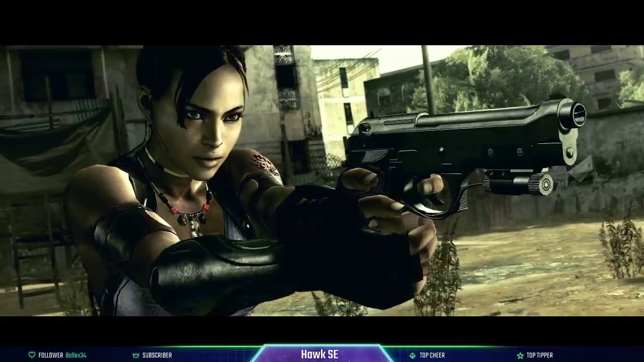 Resident Evil 5 Pc Coop Gameplay Sheva Me Timbers Part 2 Youtube