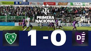 Sarmiento 1 VS. Villa Dálmine 0  | Fecha 5 | Primera Nacional 2019/2020