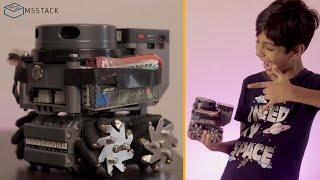 LIDAR Bot from M5Stack | An autonomous Robot