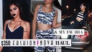 $350 FASHION NOVA TRY ON HAUL + MY FAVOURITE BRA thumbnail