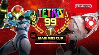 Tetris® 99 - 26th MAXIMUS CUP Gameplay Trailer - Nintendo Switch