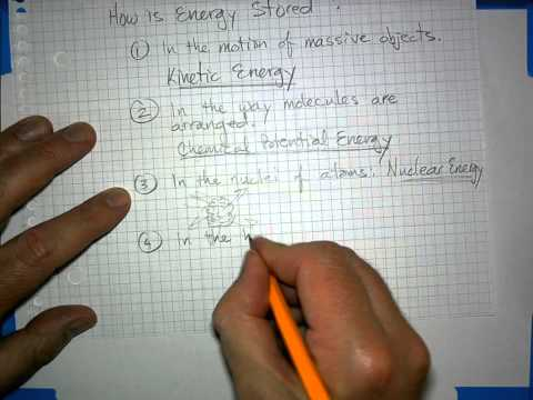 Energy Technology 1 Unit 1 Lecture What Is Energy?