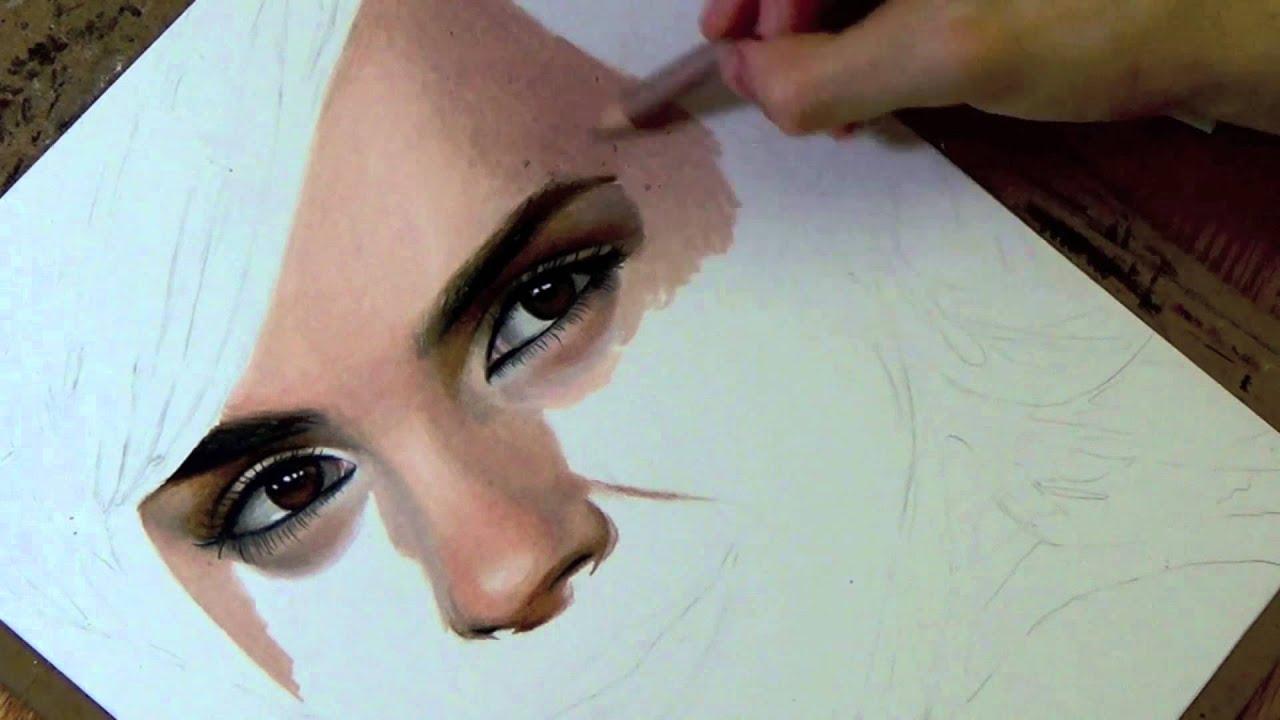 Drawing Emma Watson - YouTube эмма уотсон
