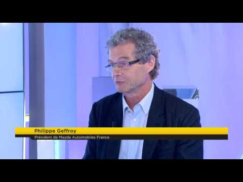 Interview de Philippe GEFFROY (Mazda) par Alain Marty - BUSINESS 365