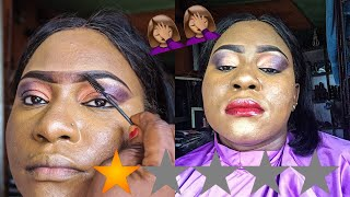 I WENT TO THE WORST REVIEWED MAKE-UP ARTIST EVER!!