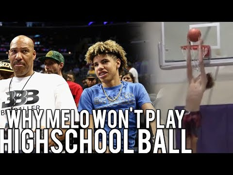 LaMelo Ball DROPPED OUT OF CHINO HILLS FOR THE NBA! Will Train with Lavar Ball for 2 years