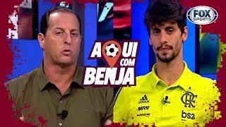 XERIFE RUBRO-NEGRO! Rodrigo Caio - Aqui Com Benja! - Programa completo
