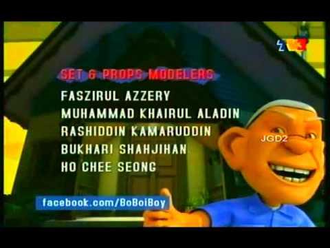 BoBoiBoy S2: Bersedia (Season 2, Version 1)