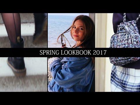 Spring Lookbook 2017 | Styling Dr Martens and a Denim Jacket