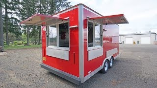 Mobile Food Cart Trailer : For Sale