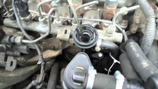 Laguna 2 1.9 F9Q картерные газы